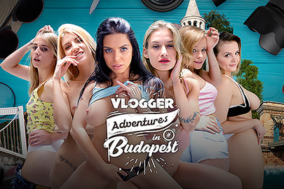 Vlogger Adventures in Budapest