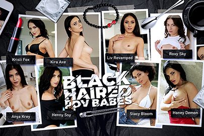 Black-Haired POV Babes