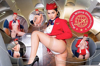 More Than Willing Stewardesses