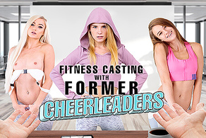 Fitness Casting with Former Cheerleaders