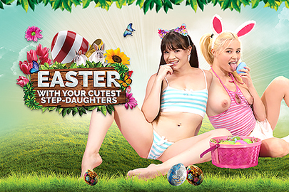 Easter with Your Cutest Step-Daughters