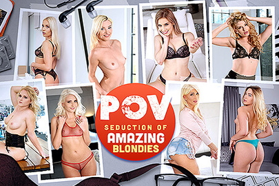 POV Seduction of Amazing Blondies