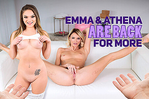 Emma & Athena Are Back for More