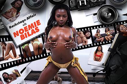 Backstage Affair with Noemie Bilas