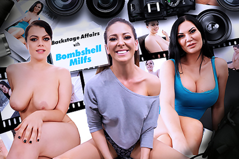 Backstage Affairs with Bombshell MILFs