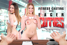 Fitness Casting with Eager Cuties