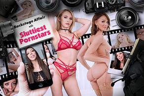 Backstage Affairs with the Sluttiest Pornstar