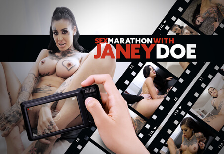 Sex Marathon with Janey Doe