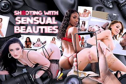 Shooting with Sensual Beauties