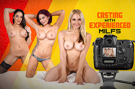 Casting with Experienced MILFs