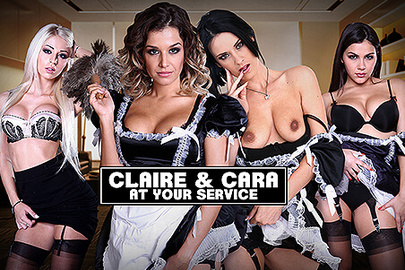 Claire & Cara at Your Service