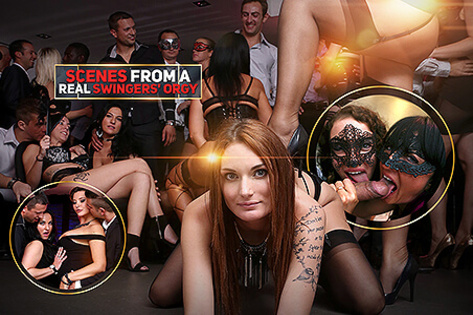Scenes from a Real Swingers' Orgy