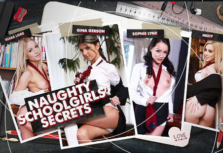 Naughty Schoolgirls' Secrets