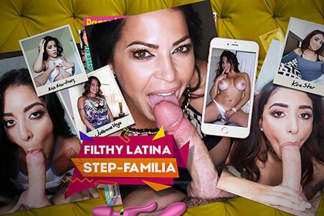Filthy Latina Step-Familia