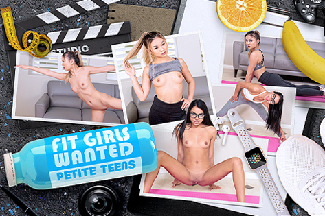 Fit Girls Wanted - Petite Teens