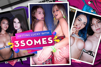 Getting Lucky with 3somes