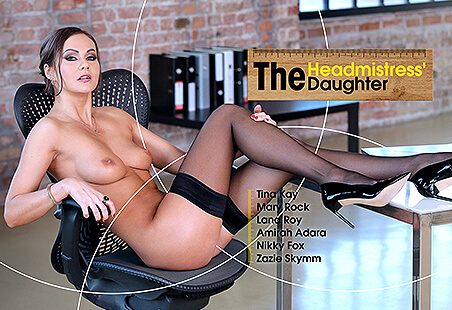 Naughty College - The Headmistress' Daughter