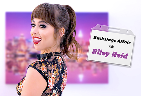 Backstage Affair with Riley Reid
