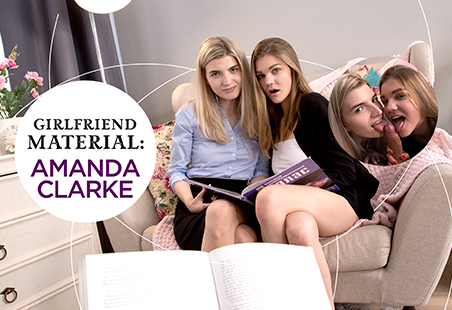 Girlfriend Material: Amanda Clarke