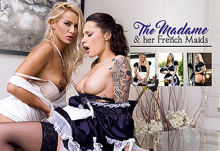 The Madame & her French Maids