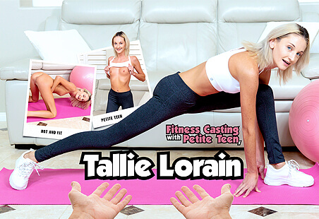 Fitness Casting with Petite Teen Tallie Lorain