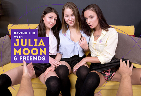 Having Fun with Julia Moon & Friends