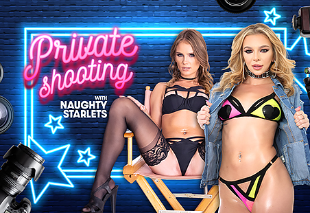 Private Shooting with Naughty Starlets