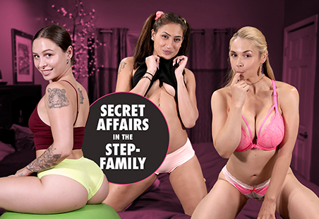 Secret Affairs in the Step-Family