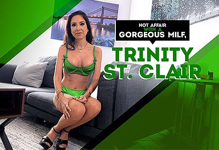 Hot Affair with a Gorgeous MILF, Trinity St. Clair