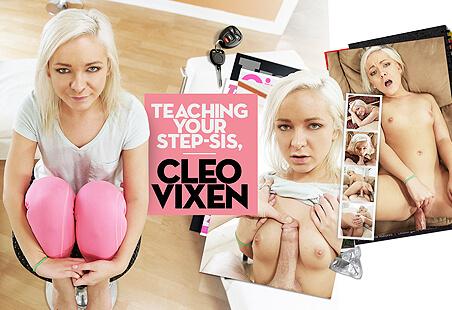 Teaching Your Step-Sis, Cleo Vixen