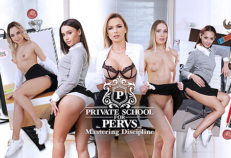 Private School for Pervs - Mastering Discipline