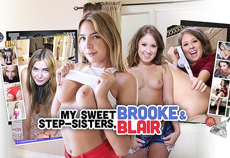 My Sweet Step-Sisters, Brooke & Blair