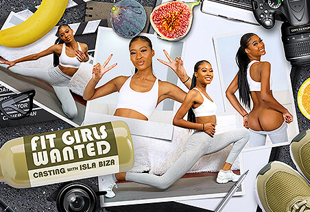 Fit Girls Wanted - Casting with Isla Biza